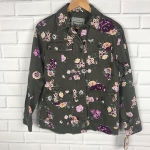 Levi's printed field jacket | size extra small